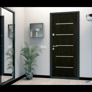 Дверь входная Бульдорс 14  LASER (Венге) - 2